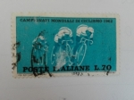 Stamps Europe - Italy -  Ciclismo