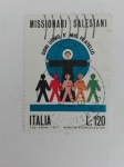 Stamps Europe - Italy -  Missionarios