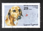 Stamps : Africa : Morocco :  Perros