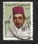 Stamps : Africa : Morocco :  King Hassan II (1968-1973)