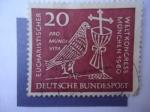 Sellos del Mundo : Europa : Alemania : Alemania,República Federal - Conferencia Mundial Eucarística - Congreso Mundial Eucarístico.