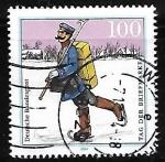 Sellos del Mundo : Europa : Alemania : Dia del sello - Bartolome Murillo
