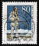 Stamps : Europe : Germany :  Karl May (1842-1912)