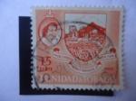 Sellos del Mundo : America : Trinidad_y_Tobago : Queen Elizabeth II - Coloni - Escudo de Armas.