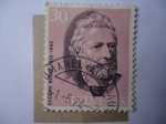 de Europa - Suiza -  Eugene Borel (1835-1892) Primer Director de U.P.U - Unión Postal Universal