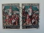 Stamps America - Colombia -  Eucaristico
