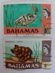 Stamps America - Bahamas -  Fauna