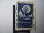 de America - ONU -  Satelite Meteorologico - organización Meteorológica Mundial.