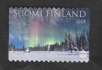 Stamps : Europe : Finland :  Aurora boreal
