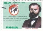 Stamps Africa - Guinea Bissau -  150 aniversario internacional de Cruz Roja-GUSTAVE MOYNIER