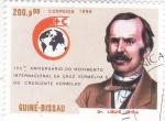 Stamps Africa - Guinea Bissau -  150 aniversario internacional de Cruz Roja-LOUIS APPIA