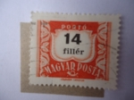 Stamps Europe - Hungary -  Cifras - Postage Due