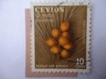 Stamps Asia - Sri Lanka -  Cocos Rey - King Coconuts - Ceylon.