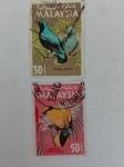 Stamps Malaysia -  Pajaros