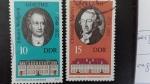 Sellos de Europa - Alemania -  DDR/RDA Personajes