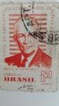 Stamps Brazil -  Visita