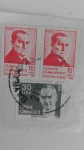 Stamps Turkey -  Personaje