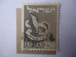 de Asia - Israel -  Emblema de Benjamín - Duodécima Tribu - Serie: de las 12 Tribus de Israel.