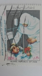 Sellos del Mundo : Asia : Irán :  Enfermera