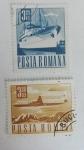 Sellos de Europa - Rumania -  Transporte