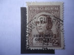 Sellos de America - Argentina -  Justo José Urquizq (1801-1878) Serie:Oficial