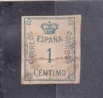 Sellos del Mundo : Europa : España :  CORONA Y CIFRA (34)