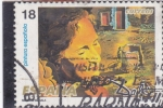 Stamps Europe - Spain -  DALÍ- PINTURA ESPAÑOLA (34)