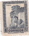 Stamps Europe - Spain -  Casas colgantes de Cuenca  (34)
