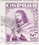 Stamps Europe - Spain -  FERNANDO III EL SANTO (34)