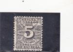 Stamps Europe - Spain -  CIFRAS -Derecho de entrega(34)