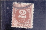 Stamps Europe - Spain -  CIFRA (34)