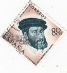 Stamps Europe - Spain -  IV CENTENARIO DE LA MUERTE DE CARLOS I (34)