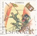 Stamps Europe - Spain -  50 ANIV. CREACIÓN DE LA LEGIÓN (34)
