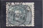 Stamps Europe - Spain -  PÓRTICO DETALLE-AÑO SANTO COMPOSTELANO(34)