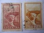 de America - Argentina -  Puente del Inca - Provincia de Mendoza
