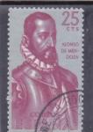 Stamps Spain -  Forjadores de America-ALONSO DE MENDOZA(34)