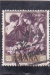 de Europa - España -  ENTIERRO DE STA, CATALINA (Zurbarán)(34)
