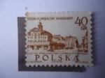 de Europa - Polonia -  Casco Antiguo de Varsovia el el Siglo XVIII- 700 (7 Siglo) Aniversario de Varsovia.