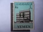 de Asia - Yemen -  Fachada del Nuevo Palacio de Iman, Sana´a