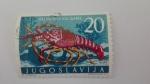 Sellos de Europa - Yugoslavia -  Langosta