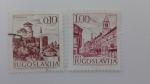 Stamps Yugoslavia -  Ciudades/Paisajes