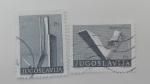 Stamps of the world : Yugoslavia :  Monumentos