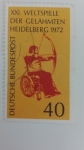 Stamps Germany -  BRD/RFA Mundial