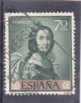 Stamps Spain -  CASILDA (Zurbarán) (34)
