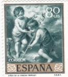 de Europa - España -  NIÑOS DE LA CONCHA (Murillo)(34)