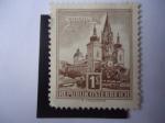 de Europa - Austria -  Basílica de Mariazell (o Basilica del Nacimiento de la Virgen María) en la Ciudad de Mariazell.