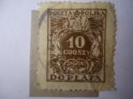 de Europa - Polonia -  Aguila -10 groszy - Doplata.