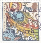 Stamps : Europe : United_Kingdom :  SAINT COLUMBA