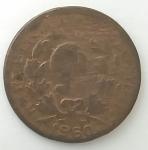 monedas del Mundo : America : Colombia :  1960 - 5 centavos