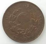 monedas del Mundo : America : Colombia :  1967 - 1 centavo